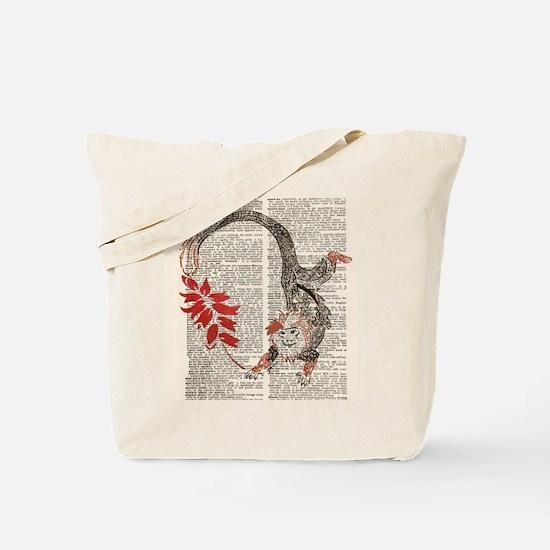 Unfettered Possibility Square Tote Bag