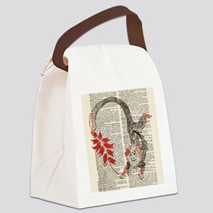 Unfettered Possibility Square Canvas Lunch Bag