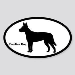Carolina Dog Silhouette Sticker