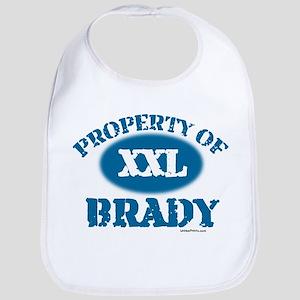 PROPERTY OF (XXL) BRADY Bib