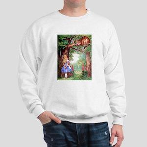 ALICE & THE CHESHIRE CAT Sweatshirt