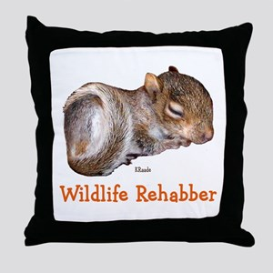 Wildlife Rehab Throw Pillow