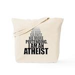 No More_Light Tote Bag
