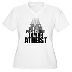 No More_Light Plus Size T-Shirt