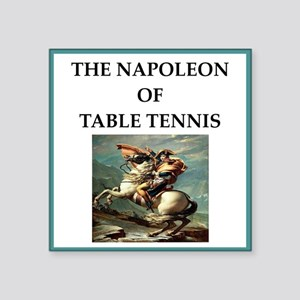 Table tennis Sticker