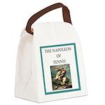 Tennis joke Canvas Lunch Bag