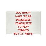 Tennis joke Magnets