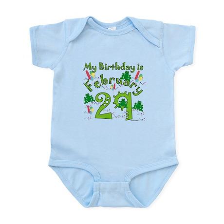 Leap Year Birthday Feb. 29th Infant Bodysuit