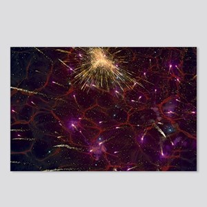 Fireworks in the Sky Postcards (Package of 8)