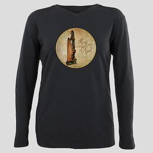 Irish Rose Harp T-Shirt