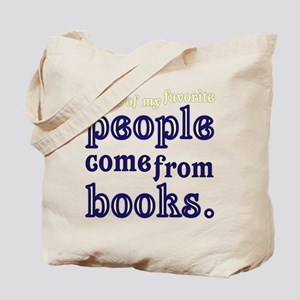 Favorite people books Tote Bag