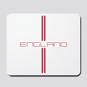 ENGLAND STRIPES Mousepad