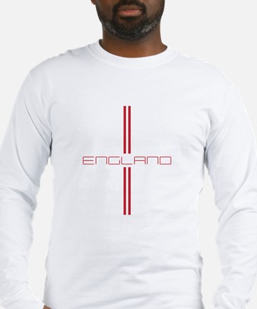 ENGLAND STRIPES Long Sleeve T-Shirt