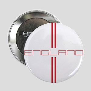 "ENGLAND STRIPES 2.25"" Button"