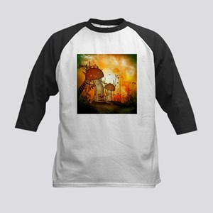 The fairy house in the night Baseball Jersey