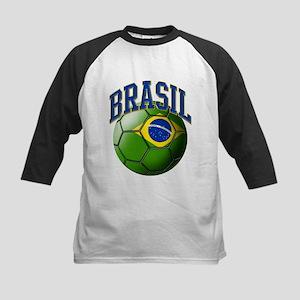 Flag of Brasil Soccer Ball Baseball Jersey