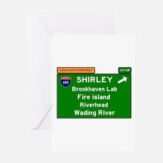 I495 - LONG ISLAND EXPRESSWAY - FIR Greeting Cards