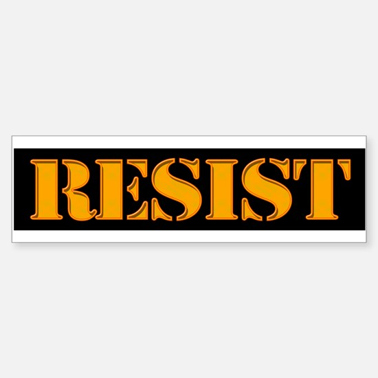 RESIST. Bumper Bumper Stickers