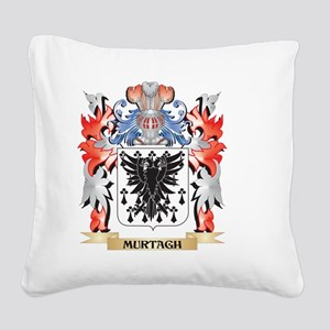 Murtagh Coat of Arms - Family Square Canvas Pillow