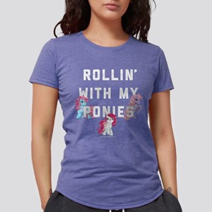 My Little Pony Rollin Wit Womens Tri-blend T-Shirt