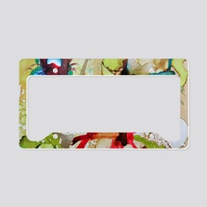 Abstract Art no.2 License Plate Holder