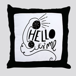 Hello Throw Pillow
