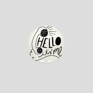 Hello Mini Button (100 pack)