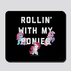 My Little Pony Rollin With My Ponies Mousepad