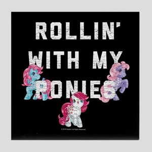 My Little Pony Rollin With My Ponies Tile Coaster