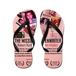 Movie Poster - The Missing Screenwriter Flip Flops