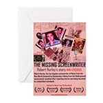 Movie Poster - The Missing Screenwriter Greeting C