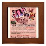 Movie Poster - The Missing Screenwriter Framed Til