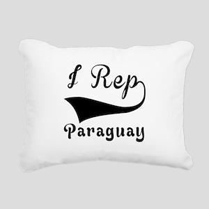 I Rep Peruguay Rectangular Canvas Pillow