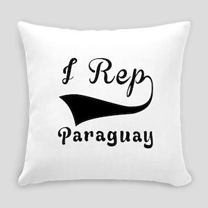 I Rep Peruguay Everyday Pillow