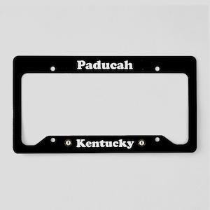 Paducah KY - LPF License Plate Holder