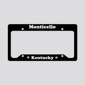 Monticello KY - LPF License Plate Holder