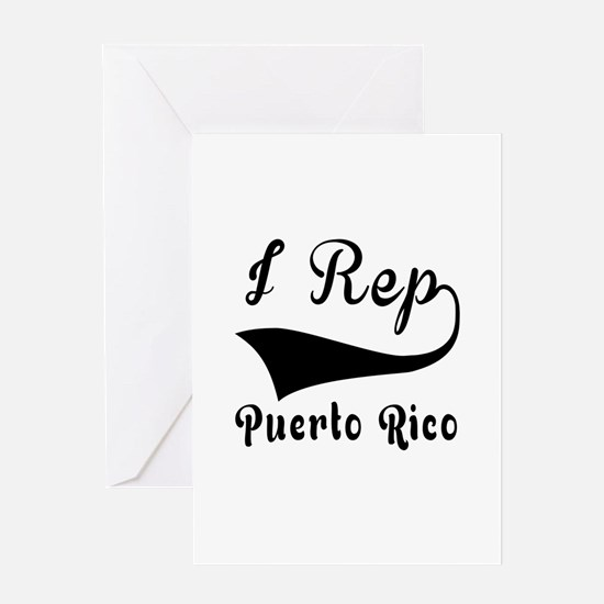 I Rep Puerto Rica Greeting Card