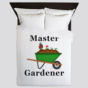 Master Gardener Queen Duvet