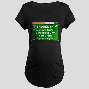 I495 - LONG ISLAND EXPRESSWAY - Maternity T-Shirt