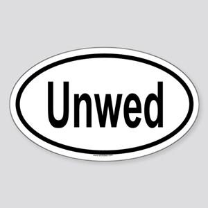 UNWED Oval Sticker