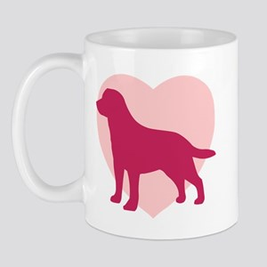 Labrador Retriever Valentine's Day Mug