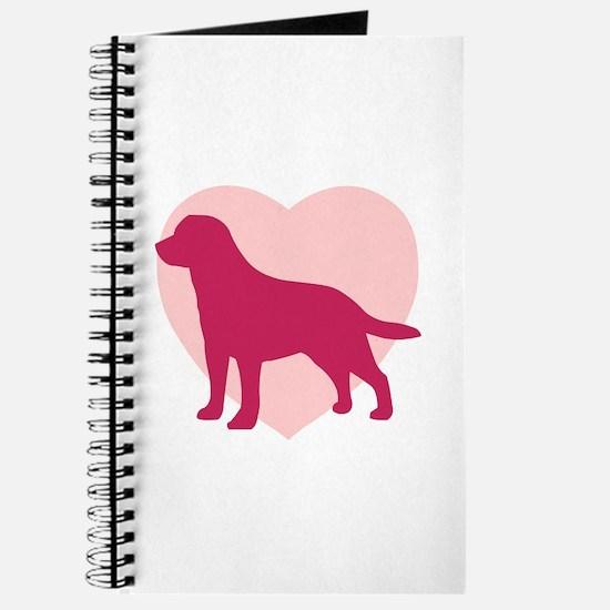 Labrador Retriever Valentine's Day Journal