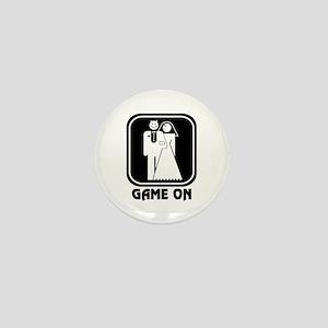 Game On Wedding Mini Button