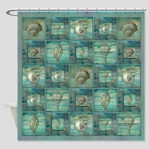 Best Seller seashell Shower Curtain
