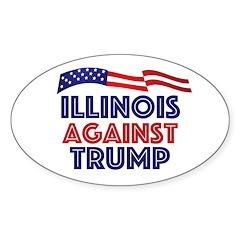Illinois Against Trump Decal