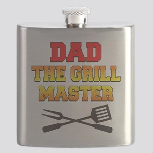 Dad The Grill Master Flask