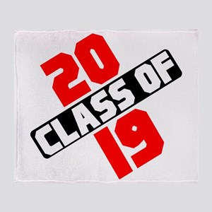 Class of 2019 Throw Blanket
