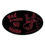 Bad Dragon Oval Sticker