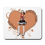 Valentine Wanted (Female) Mousepad