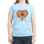 Valentine Wanted (Female) Women's Light T-Shirt